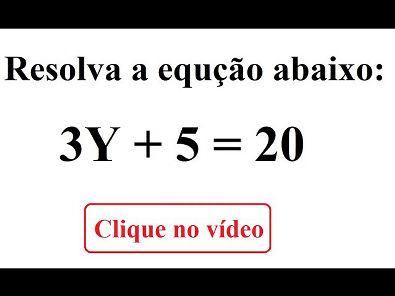 Como resolver uma equação do primeiro grau?