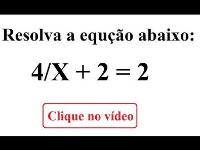 Como resolver equações do primeiro grau