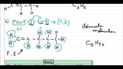Nomenclatura, fórmula estrutural e molecular na Química Orgânica
