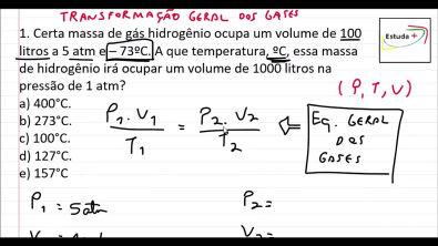 Transformação Geral dos gases