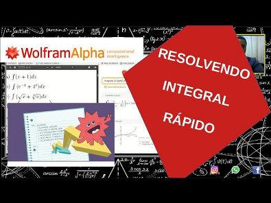 COMO SABER SE VOCÊ ACERTOU A INTEGRAL (WolframAlpha) ?