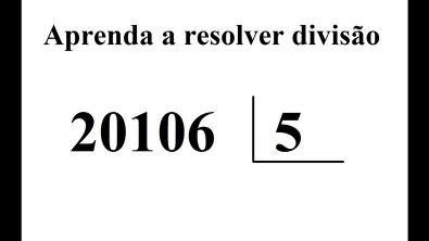 Como fazr divisão com números grandes