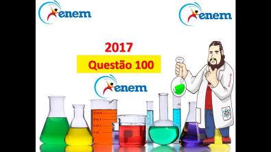 Enem 2017 - questão 100: prova Amarela