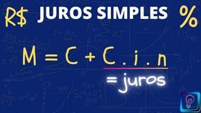 JUROS SIMPLES : QUAL O MONTANTE? (VALOR FUTURO)