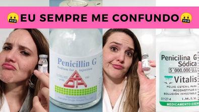 Cálculo de Penicilina G Cristalina, Benzatina e Procaína