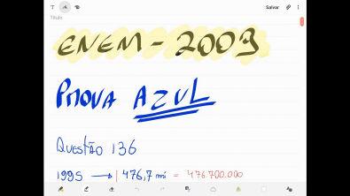 Proava 2009 - Questão 136