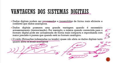 Eletrônica Digital - Vantagens dos Sistemas Digitais