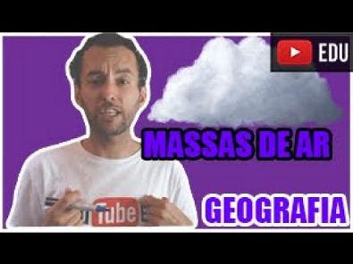 Massas de ar - Dinâmica climática brasileira - GEO 08