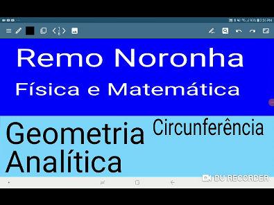 Geometria Analítica Circunferência