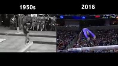 Evolução da Ginástica Artística - Aparelhos e sequência de movimentos