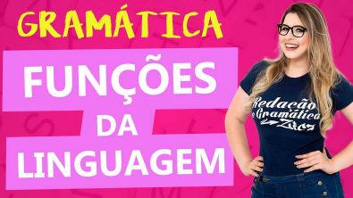 FUNÇÕES DA LINGUAGEM - AULA COMPLETA - Aula 2 - Profa Pamba - Curso de Estilística