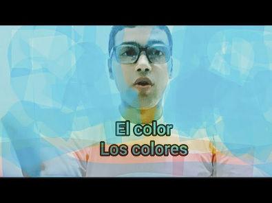 Los colores en español / As cores em espanhol