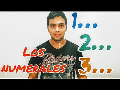 Aprenda los números/numerales en español