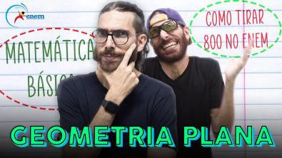 Como calcular a área de figuras planas? Como tirar 800+ na matemática do ENEM
