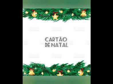 Como fazer um Cartão de na Natal