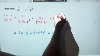 3. Números Binomiais e propriedades - 2/3
