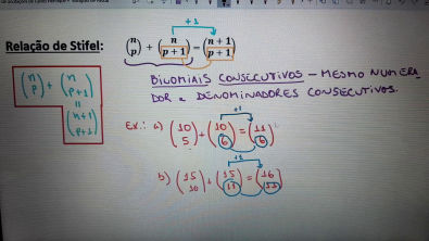 4. Números Binomiais e propriedades - 3/3