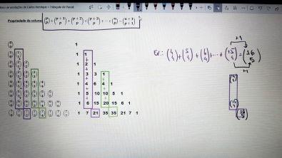 7. Triângulo de Pascal e propriedades - 3/5