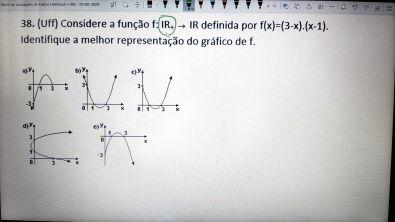 Exercícios de Função Quadrática - 10