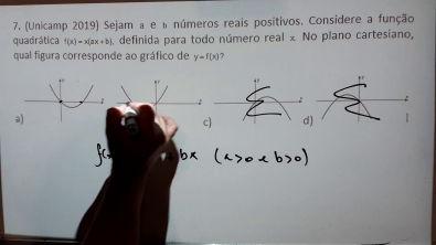 Exercícios de Função Quadrática - 1