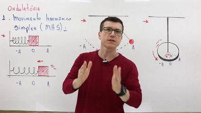 MHS (Movimento Harmônico Simples) PARTE 1 - ONDULATÓRIA - Aula 14