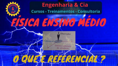 03 FÍSICA O QUE É REFERENCIAL OU SISTEMA DE REFERÊNCIA | Ensino Médio | Física Enem