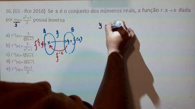 11. Exercício de função inversa