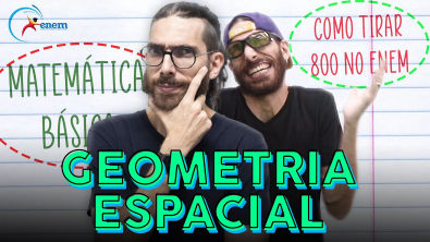 Como calcular volumes? Geometria Espacial no Enem! Como tirar +800 em matemática?