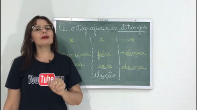 A ortografia e os ditongos PD