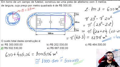 Geometria (Questão Resolvida) - MUITO INTERESSANTE!