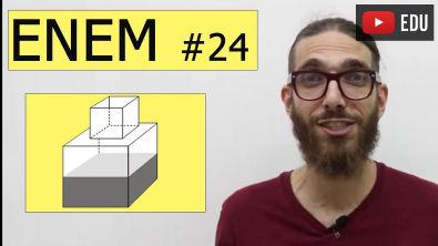 Matemática do Enem - Cubo - Geometria Espacial #24