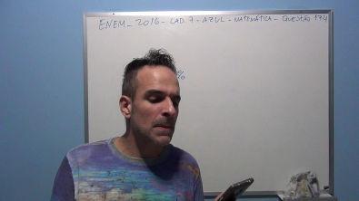 ENEM 2016 CAD 7 AZUL MATEMÁTICA Questão 174