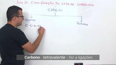 Classificação de Cadeias Carbônicas | Química Orgânica