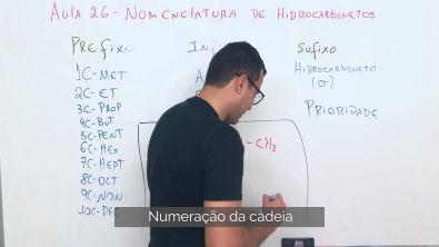 Nomenclatura de Hidrocarbonetos | Química Orgância