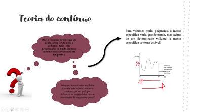Aula 6 - Dinâmica dos fluidos - Teoria do continuo, Campo de massa especifica e campo de velocidade