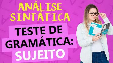 SUJEITO: RESOLUÇÃO DE EXERCÍCIOS DETALHADA - Profa Pamba