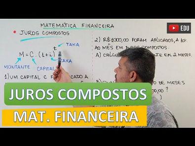 Juros Compostos - Matemática Financeira #3