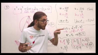 Lista de Circunferências - Resolução do exercício 03