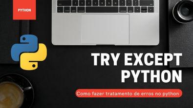como fazer o tratamento de erros com Python ?