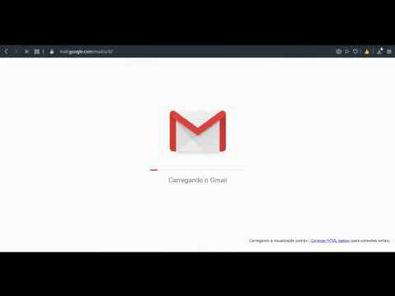 Criando conta Gmail