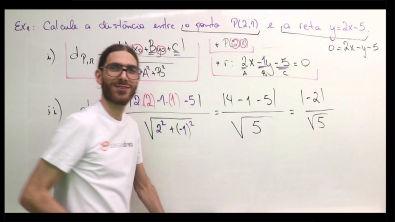 Distância entre ponto e reta - Geometria Analítica (Teoria)