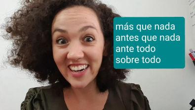 MÁS QUE NADA   Palavras Chave   Espanhol Enem 2021