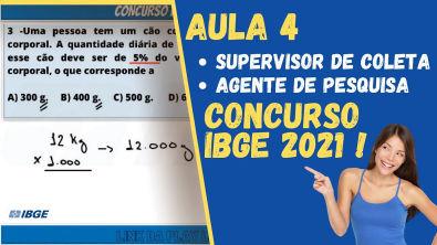 CONCURSO IBGE 2021 | PORCENTAGEM PARA AGENTE DE PESQUISA (APM) E SUPERVISOR DE COLETA E QUALIDADE