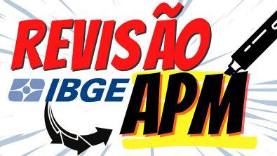 REVISÃO FINAL CONCURSO IBGE 2021 | AGENTE DE PESQUISA E MAPEAMENTO (APM) E SUPERVISOR DE COLETA