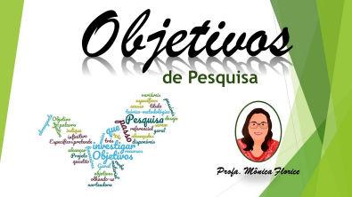 OBJETIVOS DE PESQUISA