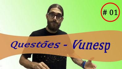 Matemática - Vunesp #1| Propondo e resolvendo questões | Prof Rafa Jesus