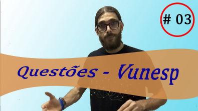 Matemática - Vunesp #3  Resolvendo FAMERP e propondo FAMERP   Prof Rafa Jesus
