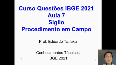 Concurso IBGE - Aula 7 - Conhecimentos Técnicos - Resolução de Questões