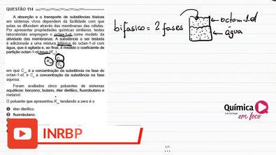 Resolução ENEM PPL 2017 - Prova azul - questão 114