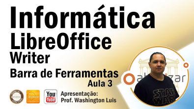 LibreOffice: Barra de Ferramentas - Aula 3